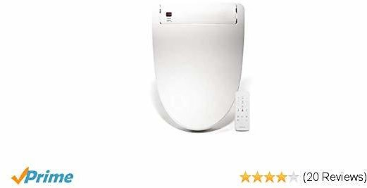 YANXUAN Bidet Toilet Seat with Self Cleaning Stainless Nozzle, Bidet with Heated Seat and Temperature Controlled Wash, Warm Air Dryer, Elongated