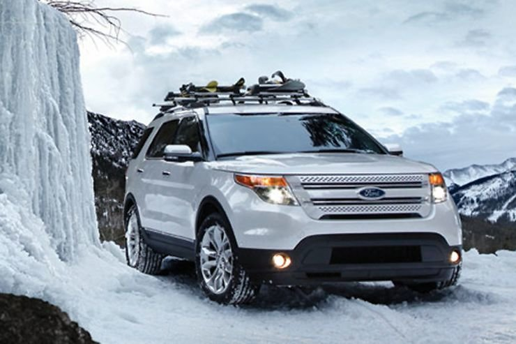 Ford Issues Safety Recall On Explorer SUVs, Citing Potential Steering Problem