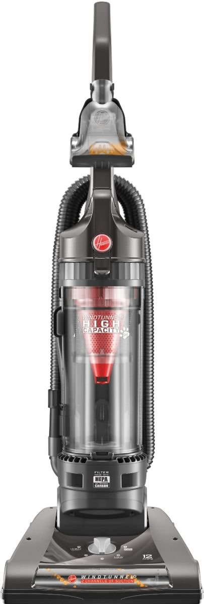 Hoover WindTunnel 2 High Capacity Pet Bagless Upright Vacuum Gray UH70811PC