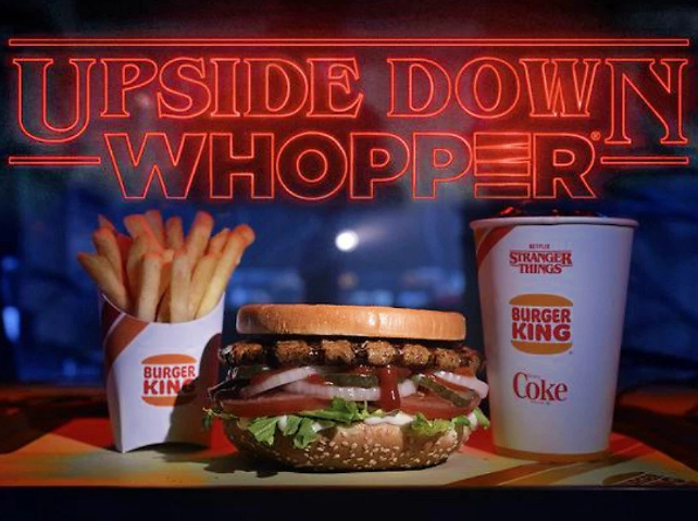 Burger King is Celebrating Stranger Things w/ Upside Down Whoppers Starting June 21 (Select Areas)