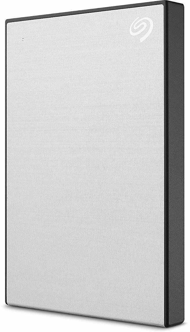 Seagate Backup Plus Slim 2TB External Hard Drive Portable HDD - Silver USB 3.0 for PC Laptop and Mac (STHN2000401)