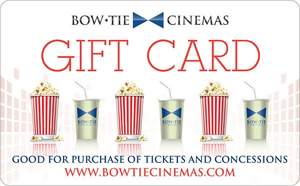 $25 Bow Tie Cinema's Gift Card For $20 (Paypal)