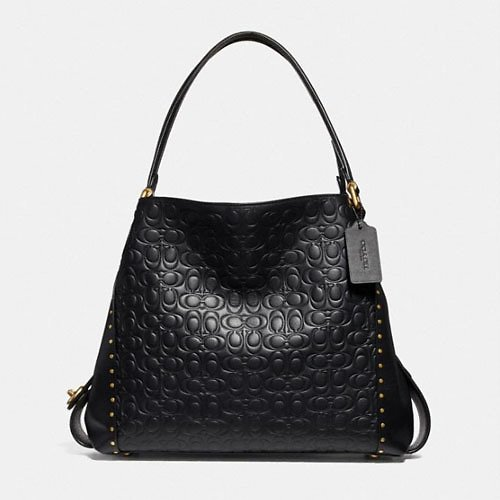 Price Drop!!!!!! Edie Shoulder Bag 31 in Signature Leather With Rivets