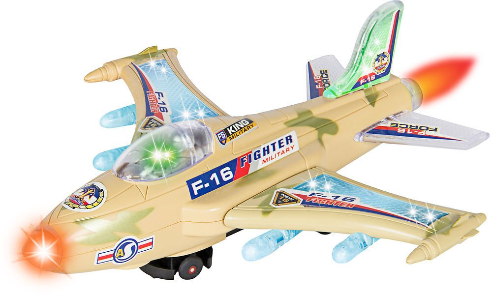 (Ships Free) BCP Battery Operated F-16 Figher Jet Airplane