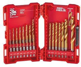 Milwaukee SHOCKWAVE IMPACT DUTY Titanium Drill Bit Set (23-Piece) Model: 48-89-4631