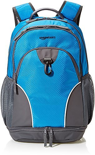 AmazonBasics Sports Backpack, Blue