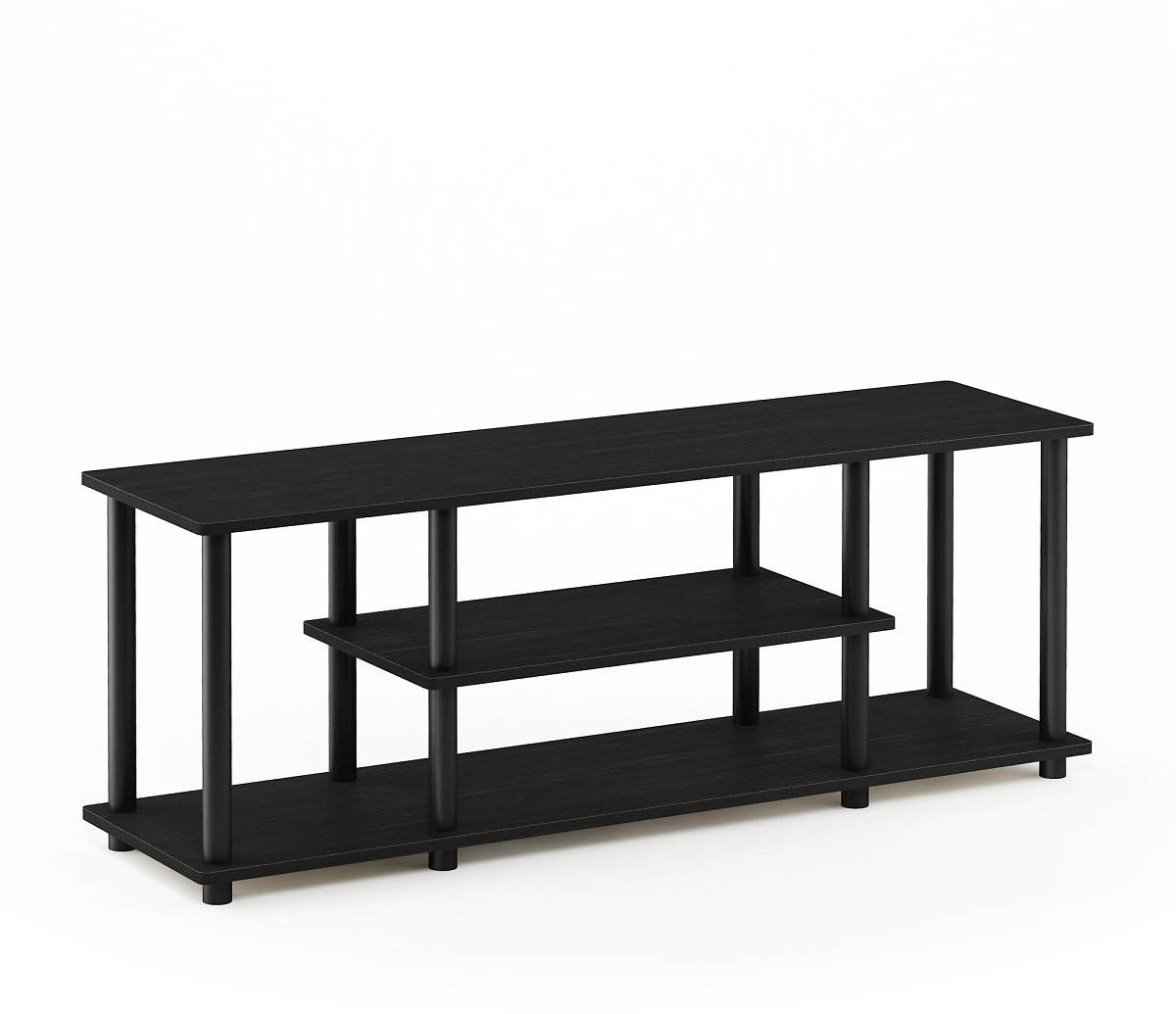 Furinno Turn-N-Tube No Tool 3-Tier Entertainment TV Stands (Multiple Colors)