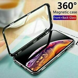 Details About 360 Protective Magnetic Shockproof Phone Case Cover for IPhone 7 8 Plus X XS MAX