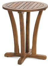 Indoor Outdoor Teak Side Table - Accent Tables - T.J.Maxx