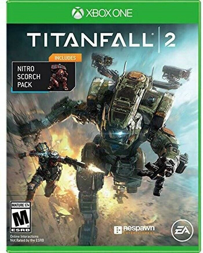 (Ships Free) Titanfall 2 with Bonus Nitro Scorch Pack - Microsoft Xbox One