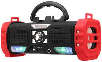 Portable Wireless Bluetooth Speaker LED Light Heavy Bass