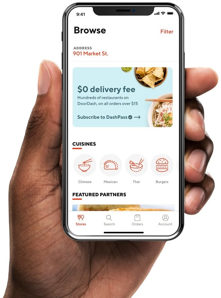 Unlimited Free Delivery with DashPass Subscription