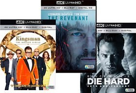2 Select 4K UHD Blu-ray Movies for $20 Best Buy Special Offer