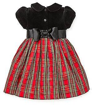 Little Me - Baby Girl's Plaid Fit-&-Flare Dress