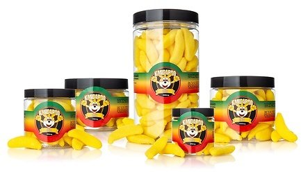 High-Potency Organic CBD Infused Sweet Banana Gummies from Kangaroo CBD