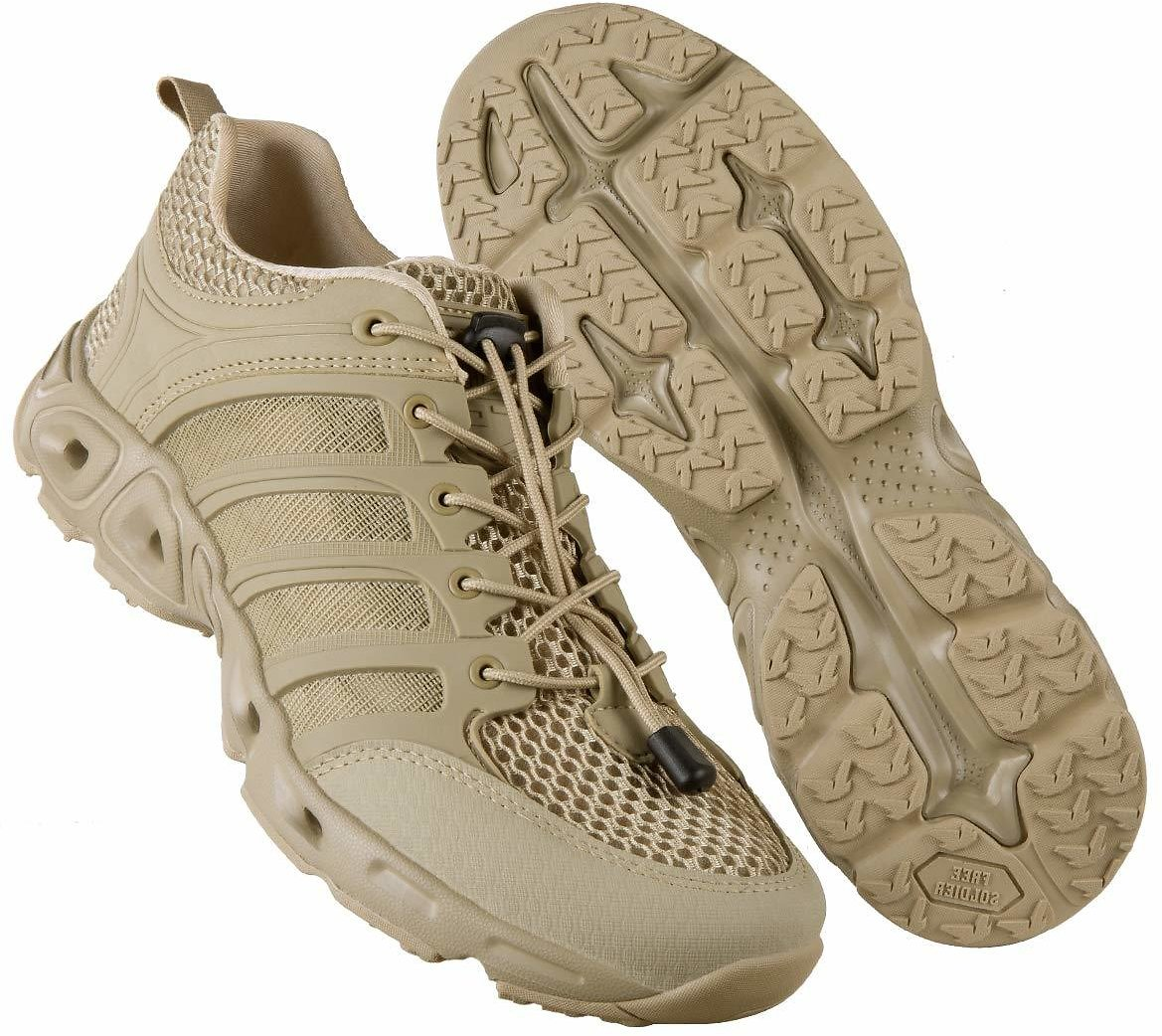 Up to 40% Off FREE SOLDIER Men's Quick Drying Lightweight Sport Water Shoes + Free Shipping
