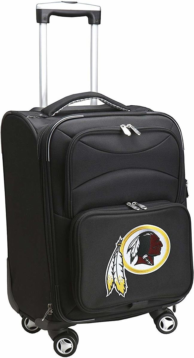 Denco NFL Domestic Carry-On Spinner, 20-Inch, Black