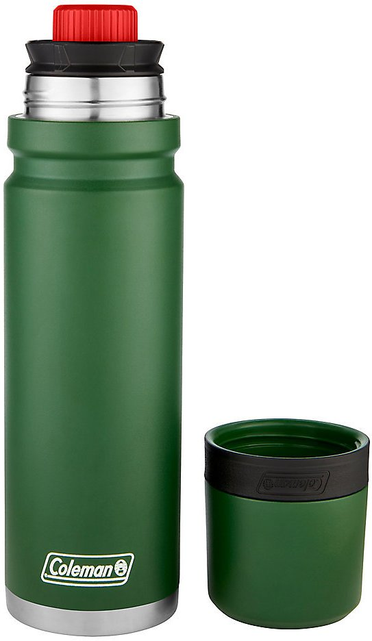 Coleman 3Sixty Pour Vacuum Insulated Stainless Steel Thermal Bottle, 24oz/700mL