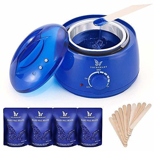 Up 50% Off YOURSMART Wax Warmer Hair Removal Waxing Kit for Women and Man Eyebrow