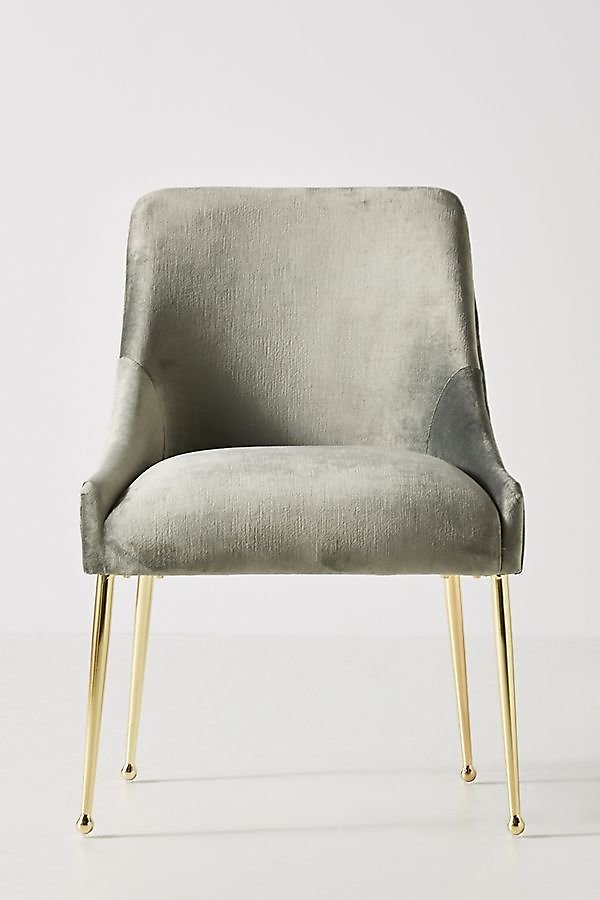 Slub Velvet Elowen Chair