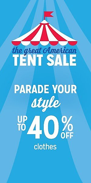 Kmart Tent Sale Up to 40% Off Items + 15% Off $40+