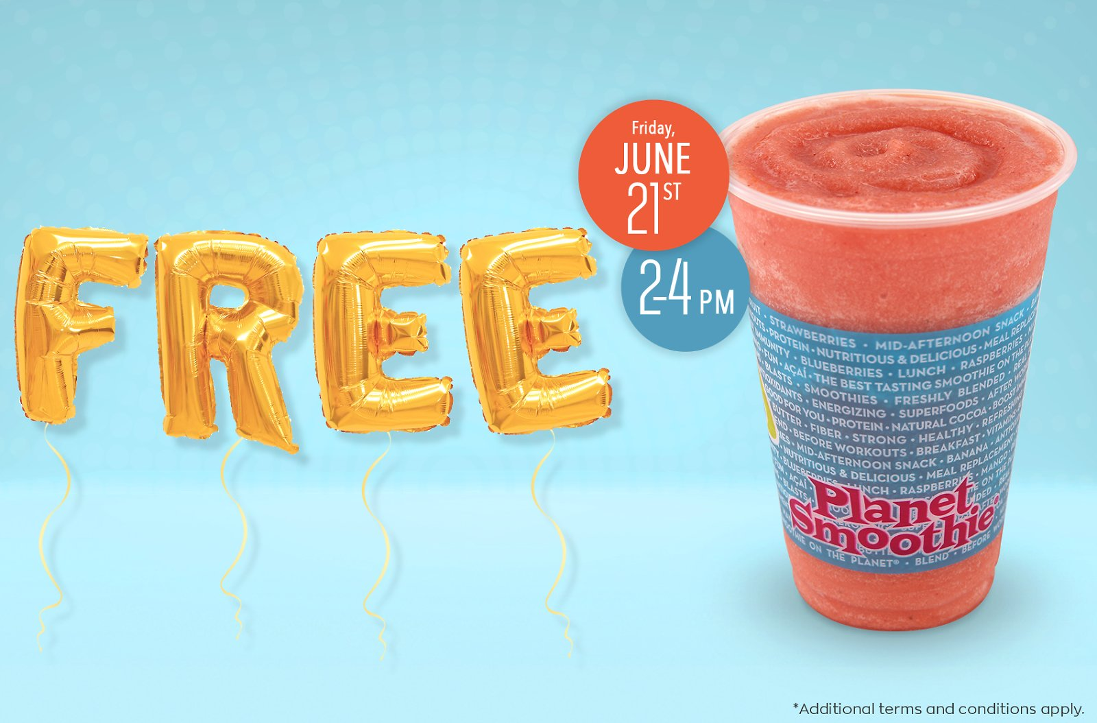 National Smoothie Day | Planet Smoothie