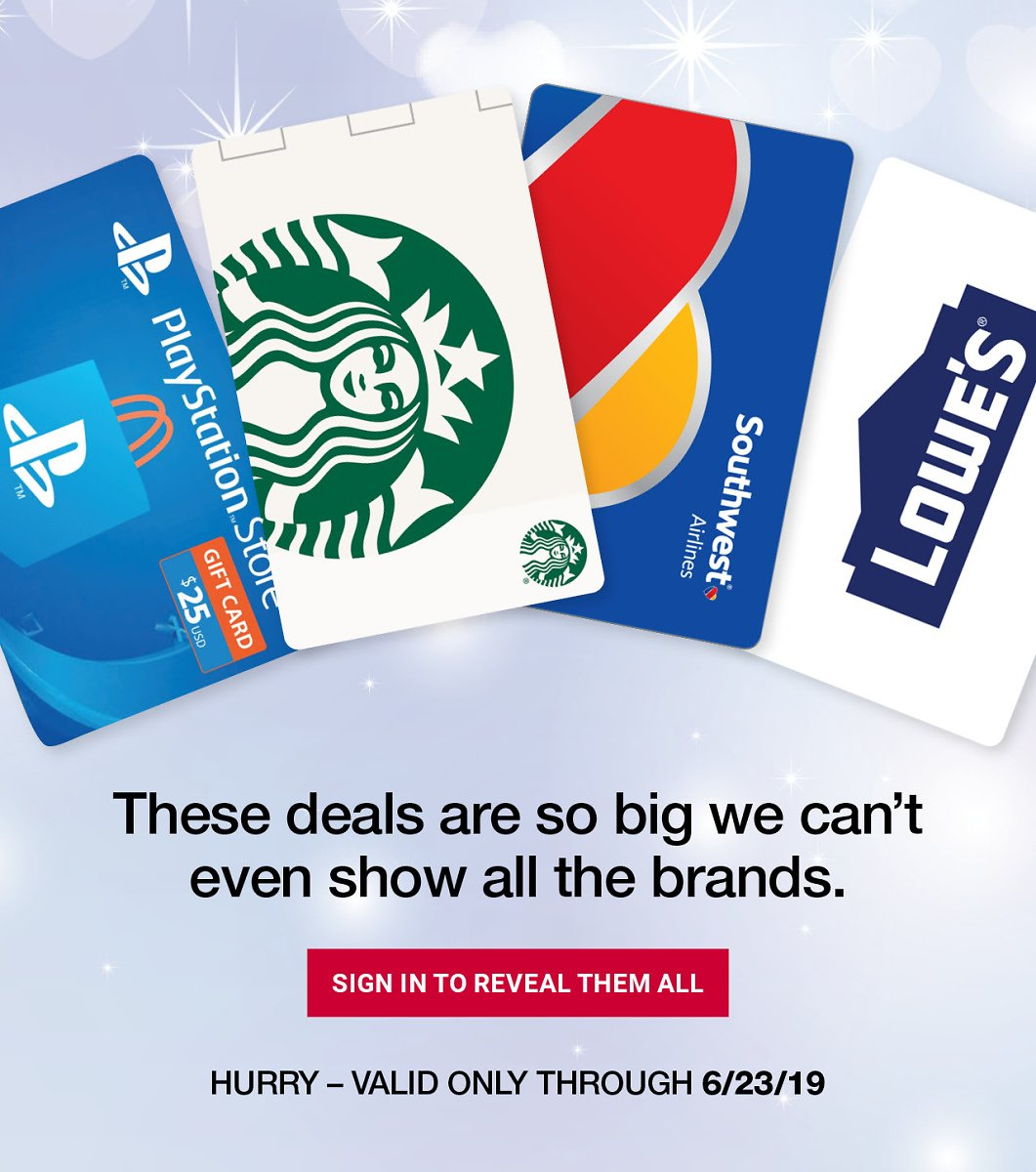 Save Up to 20% Off Your Favorite Brand Gift Cards - BJ's Wholesale Club