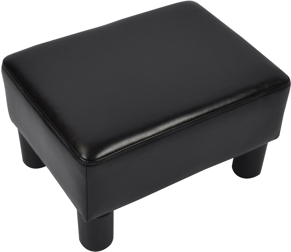 5$ Off Windaze Ottoman Footrest Stool PU Leather Small Chair Seat Couch, Only $30.99