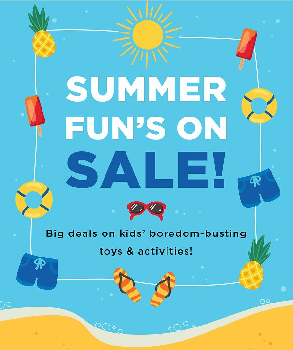 Kids Summer Toys & Games