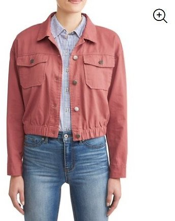 JASON MAXWELL - Women's Cropped Utility Jacket