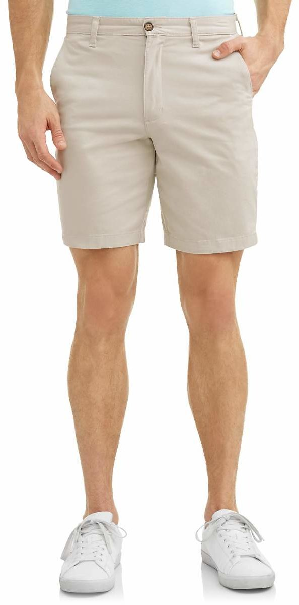 GEORGE - George Men's Flat Front Shorts - Several Colors