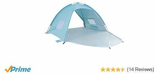 ALPIKA Beach Tent Sun Shelter 2-3 Person Camping Tent UV Protection Easy Setup Tent for Outdoor