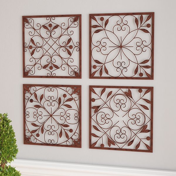 4 Piece Wall Décor Set