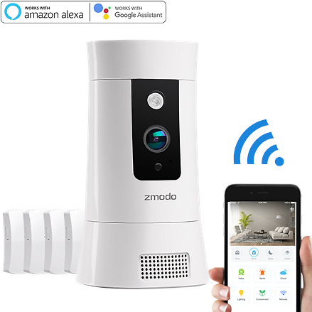 Zmodo SD-H2002 Pivot Cloud 1080p Wireless All-in-one Security Camera System