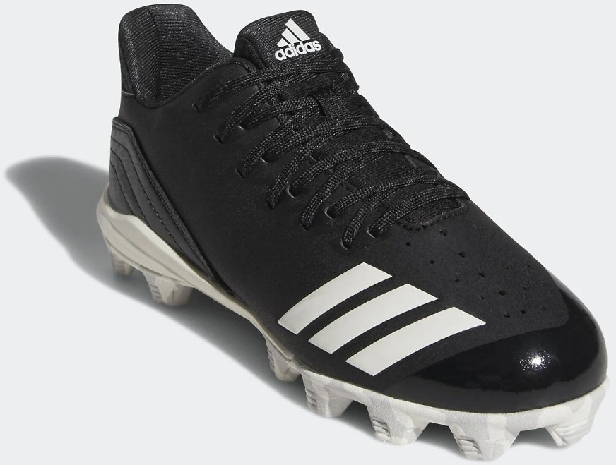 Men's Adidas Icon 4 MD Cleats - Black