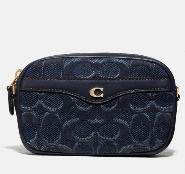 Coach Convertible Belt Bag in Signature Denim