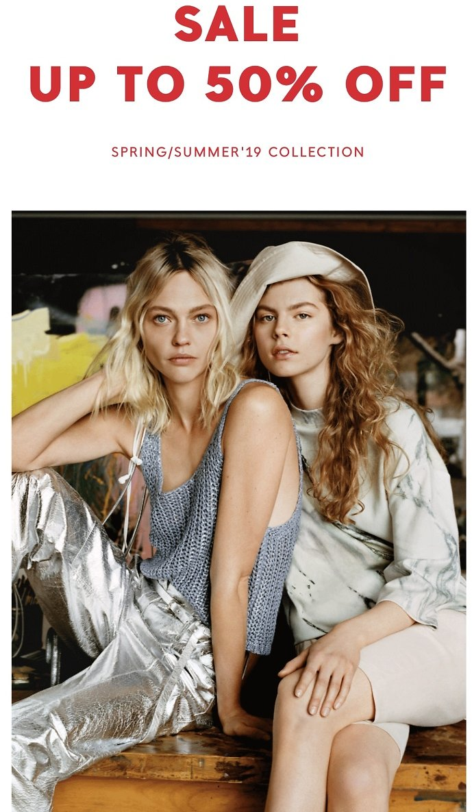 Up to 50% Off Spring Summer Sale  | Mango