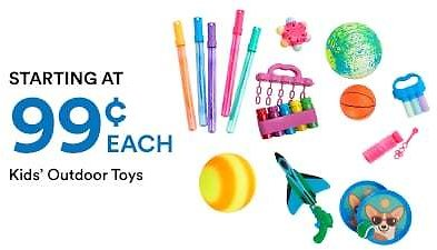 Kids Summer Toys & Games + Extra 20% Off W/ In-Store Pick Up