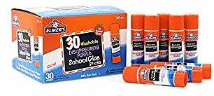 Elmers Washable Disappearing Purple School Glue (30 Pack)
