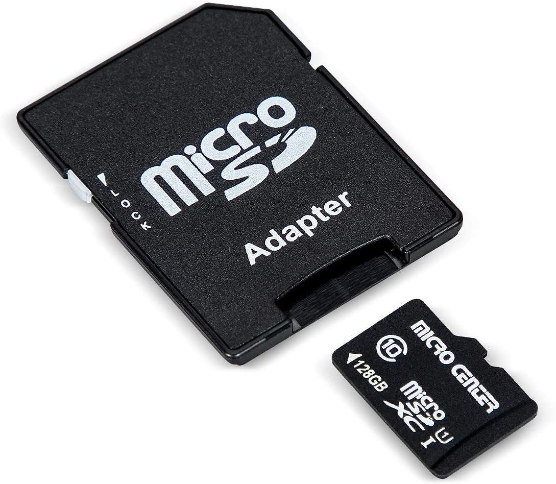 Micro Center 128GB Class 10 Micro SDXC Flash Memory Card with Adapter