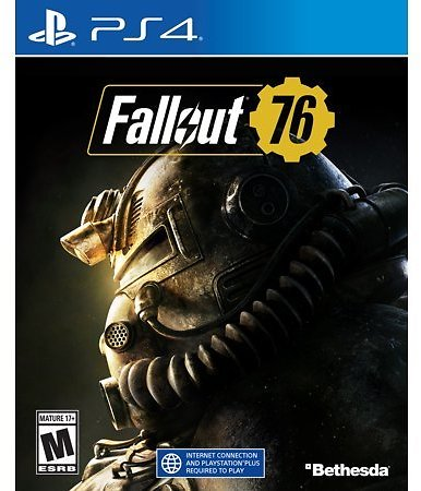 Fallout 76 Game for PS4 or Xbox One + CultureFly Fallout Collectible Box $17 $17.00