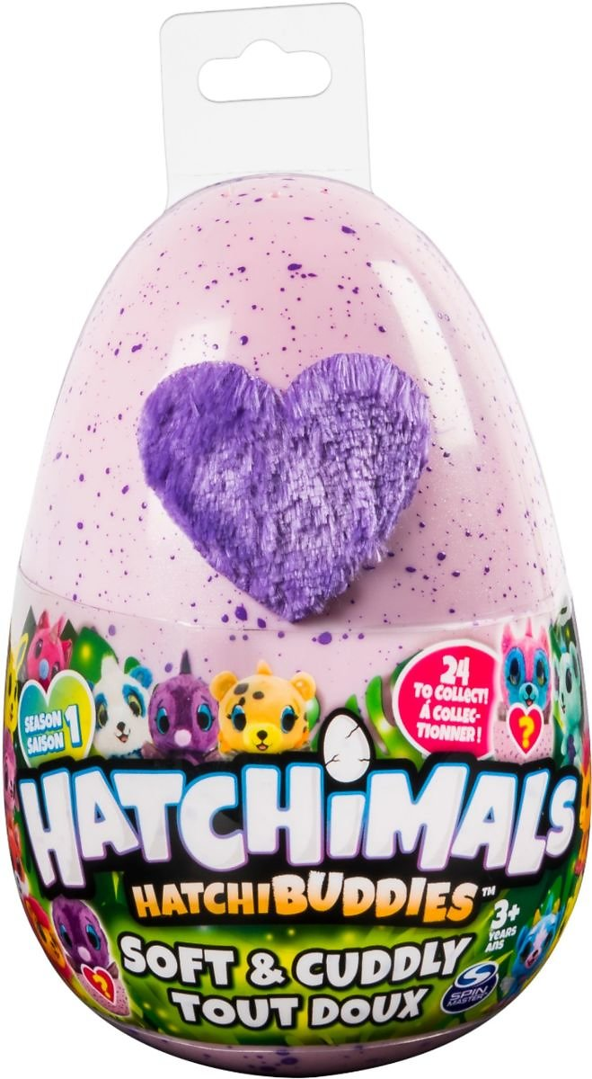 Hatchimals HatchiBuddies 6-inch Plush Styles May Vary