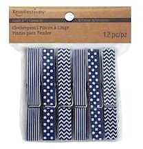 Craft It™ Patterned Clothespins By Recollections™