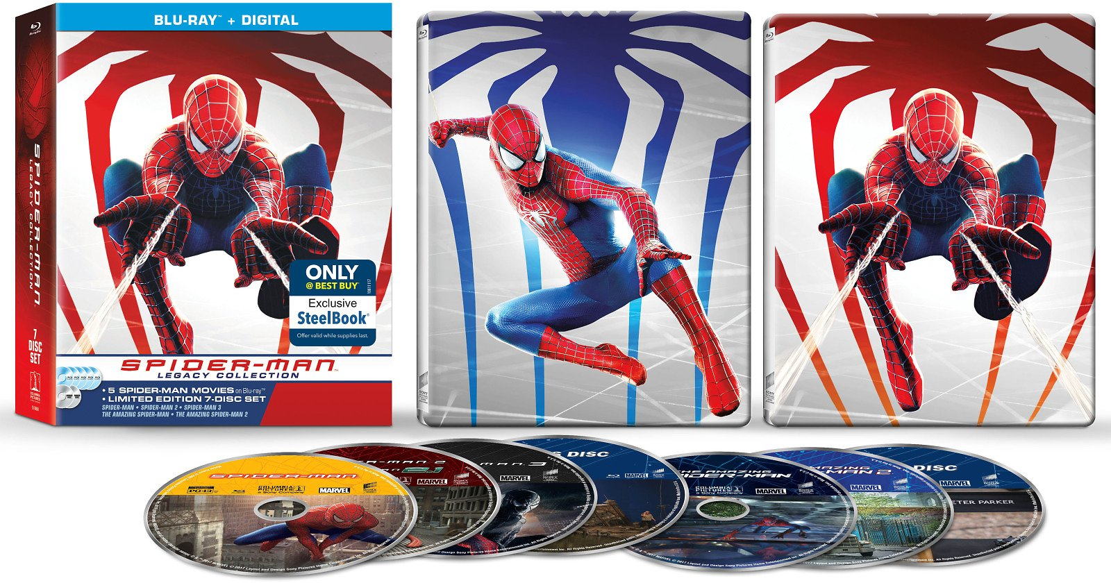 Spider-Man Legacy Collection [Blu-ray]