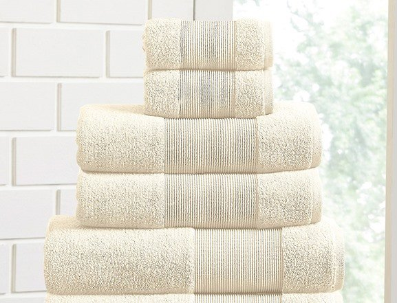 Air Cloud 100% Cotton 6-Piece Towel Set $26.99