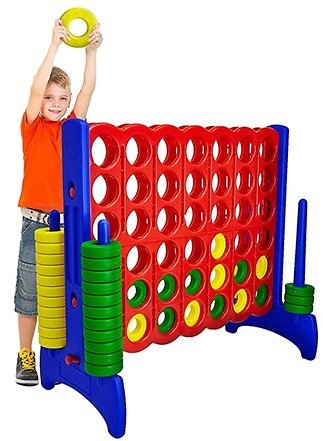Giant 4-in-a-Row Connect GameGiantville Giant 4-in-a-Row Connect Game $174.99