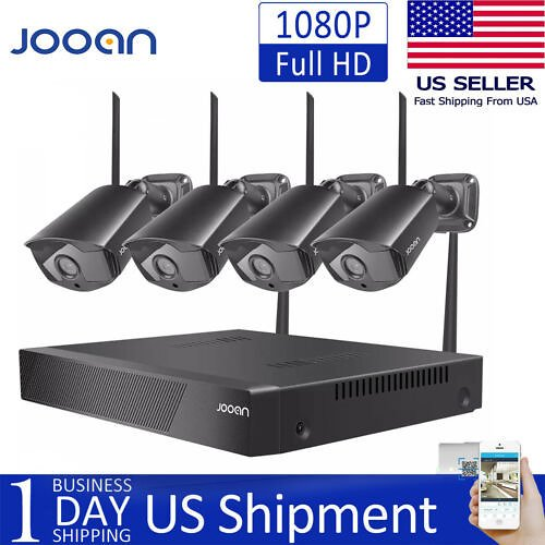 JOOAN Wireless WIFI 1080P Security Camera HDMI Home Outdoor IP Camera System Kit