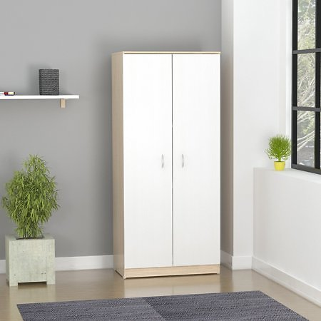 Inval America LLC Armoire with 2 Folding Doors