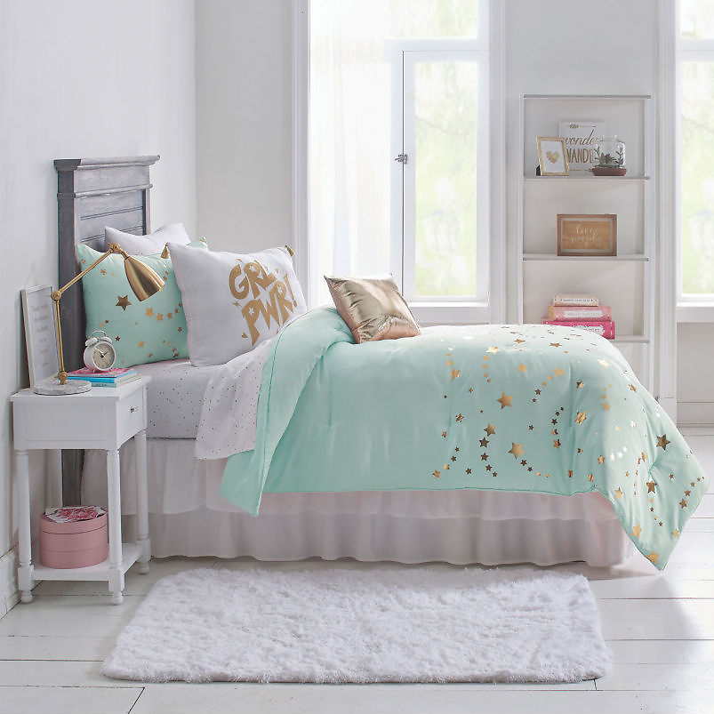 Frank And Lulu Lucky Star Midweight Embellished Comforter Set