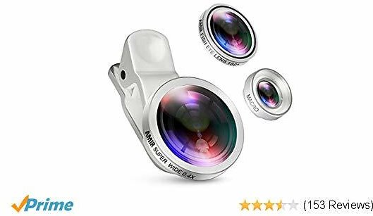 Phone Lens for IPhone 7 Plus, 8, 7, 6s, Samsung, Smartphones